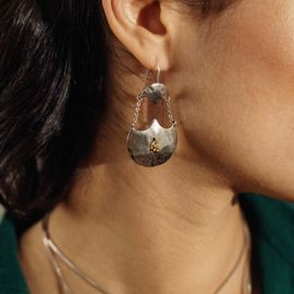 boucles d'oreilles crochet 2 éléments Java - Ori Tao