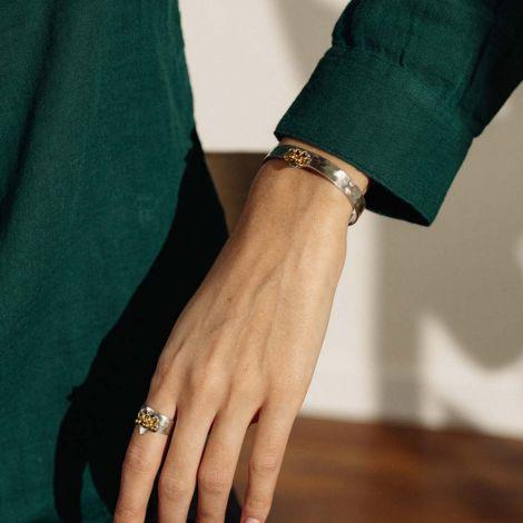 bracelet rigide 3 grelots Java