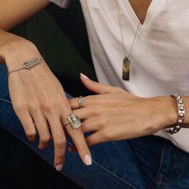 bracelet un élément nacre El gaucho - Ori Tao