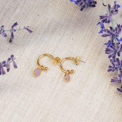CONFETTIS small creole (lilac)