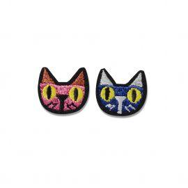 Iron-on patch cat & cat - Macon & Lesquoy