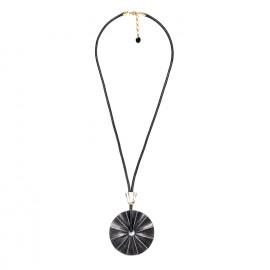 long necklace wood pendant Andalousie - Nature Bijoux