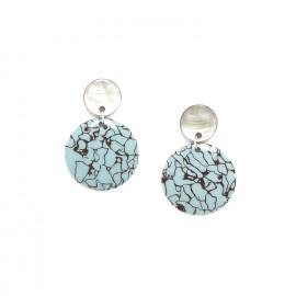 gypsy earrings Bleu nuit - Nature Bijoux