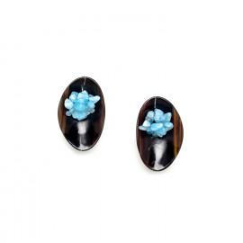 boucles d'oreilles clips grappe Cap horn - Nature Bijoux