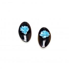grape earrings Cap horn - Nature Bijoux