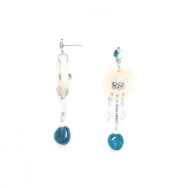 dangles on button earrings Inuit - Nature Bijoux