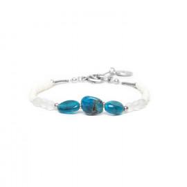 trois apatite bracelet Inuit - Nature Bijoux