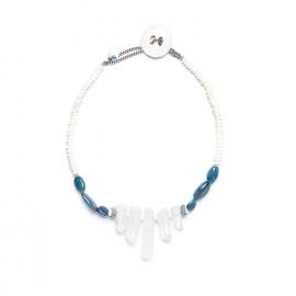 five cristals necklace Inuit - Nature Bijoux