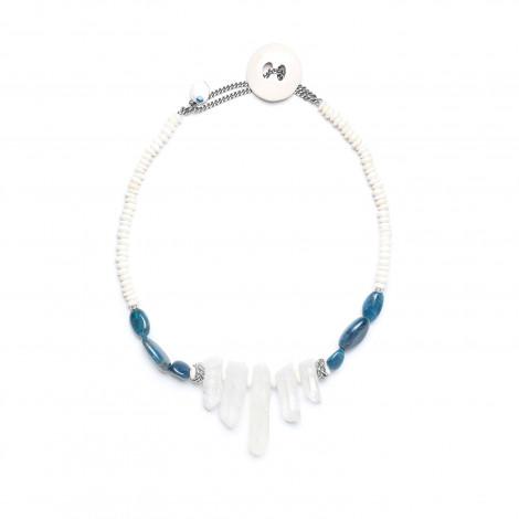 five cristals necklace Inuit