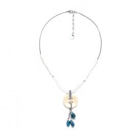 button & dangles necklace Inuit - Nature Bijoux