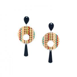 big earrings Kimono - Nature Bijoux