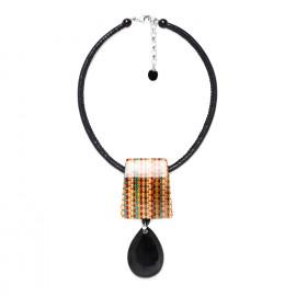 drop necklace Kimono - Nature Bijoux
