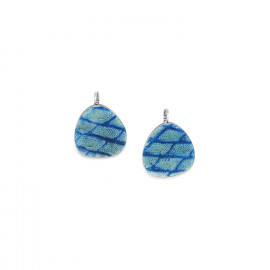 blue earrings Les calanques - Nature Bijoux