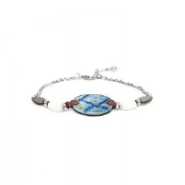 chain bracelet black lip and calcite Les calanques - Nature Bijoux