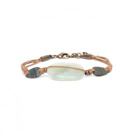 big jade bracelet Pachacuti - Nature Bijoux