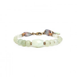 jade & blacklip bracelet Pachacuti - Nature Bijoux