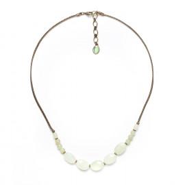 jade small necklace Pachacuti - Nature Bijoux