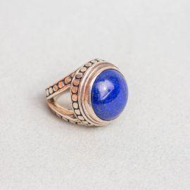 Silver & Lapis-Lazuli ring - Jalan Jalan