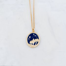 ENCHANTED FOREST necklace - Grizzly Chéri