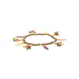 multi-dangle stretch bracelet Alina - Franck Herval