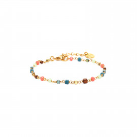 bracelet mini perles multicouleurs Lennie - Franck Herval