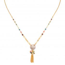collier pendentif pompon Lennie - Franck Herval