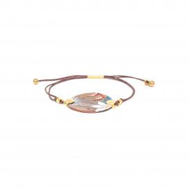 tube lock bracelet Valorine - Franck Herval