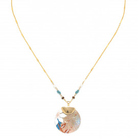 round disc necklace Valorine - Franck Herval