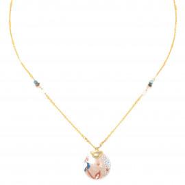 small disc necklace Valorine - Franck Herval