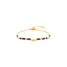 half disc bracelet Vanille - Franck Herval