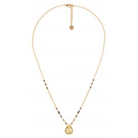 metal drop necklace Vanille - Franck Herval