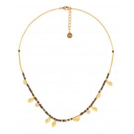 multi-dangle metal necklace Vanille - Franck Herval