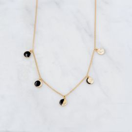 Lunar cycle necklace FULL MOON - Grizzly Chéri