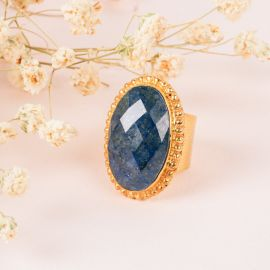 Cameo stone ring - PALOMA - L'atelier des Dames