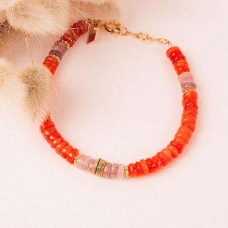 Heishi Bracelet - FLORA
