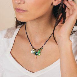 Collier perles grigri - CELINE - L'atelier des Dames