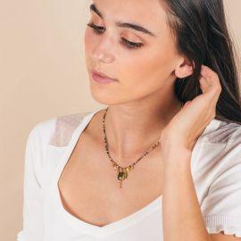 Grigri-CELINE pearl necklace - L'atelier des Dames