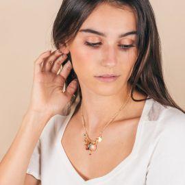 Grigri pearl necklace - ANISSA - L'atelier des Dames