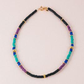 Multicolored surfer necklace - MARGAUX - L'atelier des Dames