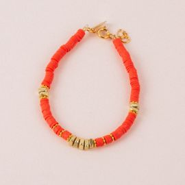 Pink Surfer bracelet - MARGAUX - L'atelier des Dames