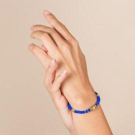 Blue Surfer bracelet - MARGAUX - L'atelier des Dames