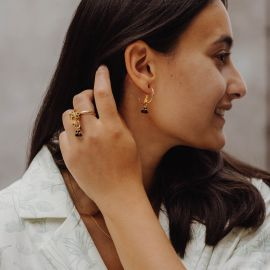 Leopard earrings - 10Th anniversary - Nach
