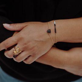 Black panther bracelet - 10th anniversary - Nach