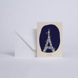 CARD PARIS JE T'AIME - Season Paper