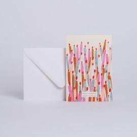 "CARTE SOUFFLE TES BOUGIES "" JOYEUX ANNIVERSAIRE"" - Season Paper"