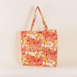 light pink Tote bag Iris - Bonheur - Jamini