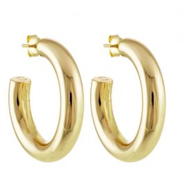 """1.5"""" Perfect Hoops in Gold - MACHETE"""