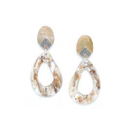 big earrings Altai - Nature Bijoux