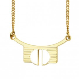 Bianca necklace white - Anne Thomas