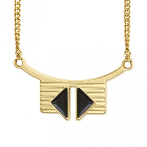 Bianca necklace white